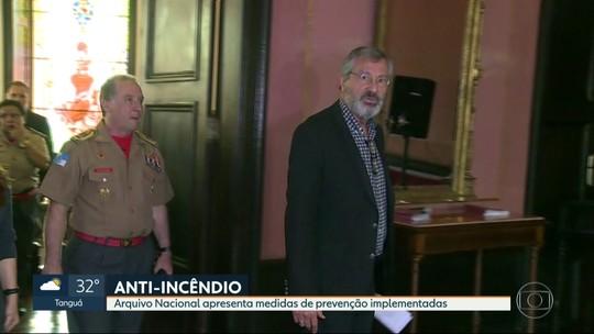 Torquato Jardim diz que Arquivo Nacional não tem 'problema relevante' em relação a medidas contra incêndio