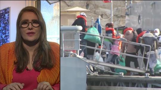Itália aceita receber migrantes que navegavam sem rumo no Mar Mediterrâneo