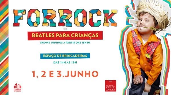 Festa junina com rock para adultos e crianças (Foto: Divulgação)