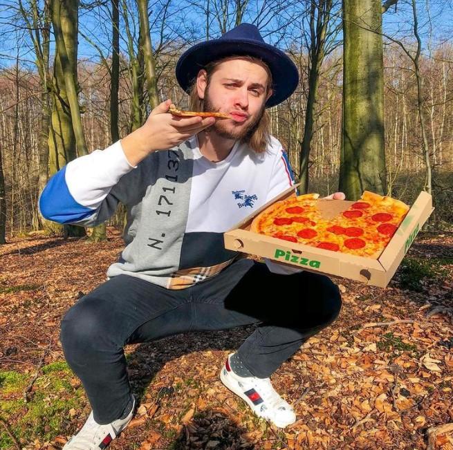 YouTuber danese Albert Derlund (Immagine: clone/Instagram)