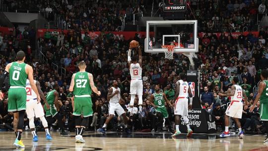 Na prorrogação, Clippers vencem Celtics em batalha só decidida no estouro do cronômetro