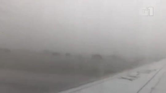 'Não deveria ter decolado com aquele tempo', diz passageiro que fez vídeo de queda de avião no México