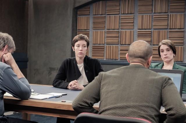 Sara Giraudeau, a protagonista de um dos episódios de 'Criminal: França', da Netflix (Foto: Netflix)