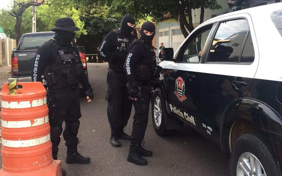 Operação Ethos prendeu advogados acusados de envolvimento com o PCC (Foto: Valmir Custódio/G1)