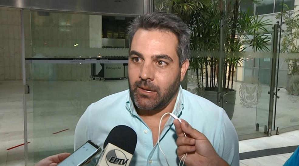 Presidente do Guarani diz que clube vai recorrer da decisão — Foto: Reprodução EPTV