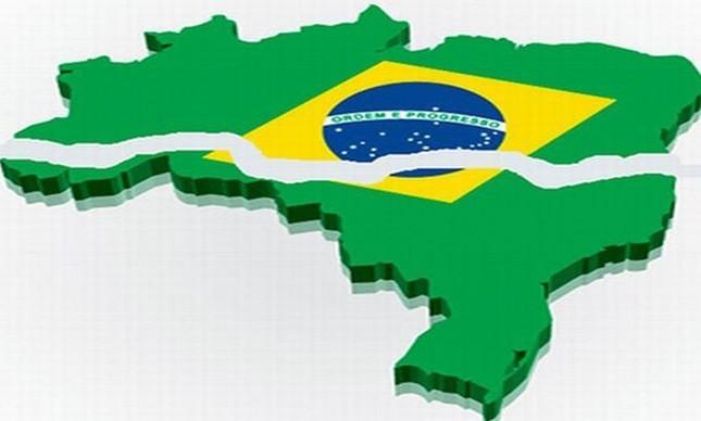Brasil rachado (Foto: Arquivo Google)