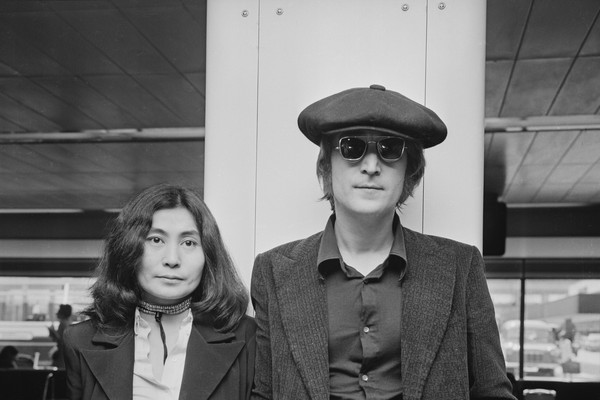 John Lennon e Yoko Ono (Foto: Getty Images)
