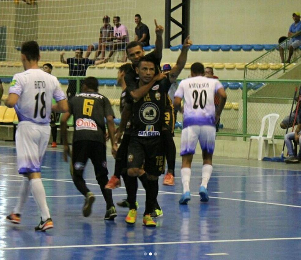JES/Krac na Liga Nordeste de futsal (Foto: Alberto Adalberto/JES)
