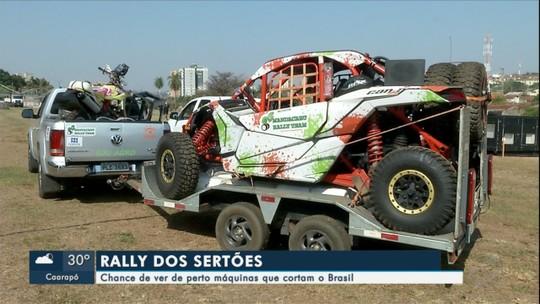 Chance de ver de perto máquinas que cortam o Brasil no Rally dos Sertões