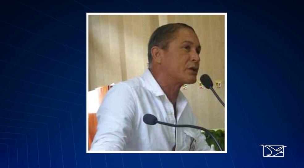 Algenir era ex-secretário de cultura de Pinheiro — Foto: Reprodução/TV Mirante