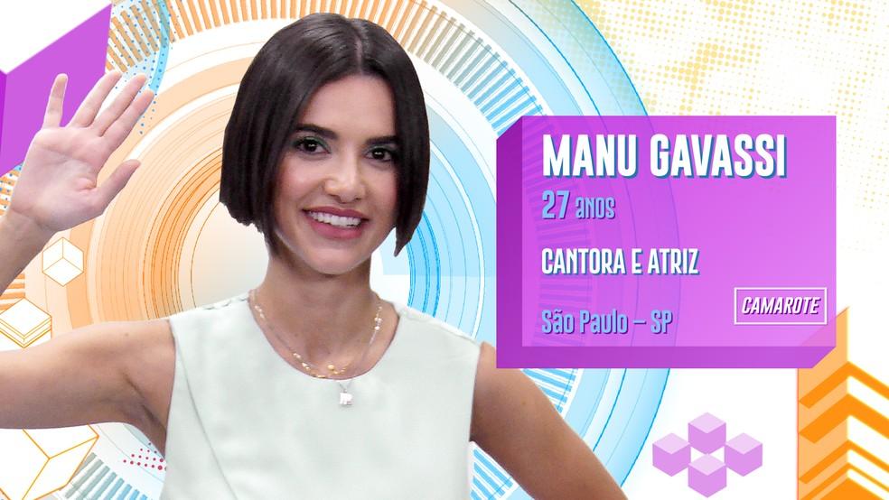 manu — Foto: Divulgação/Globo