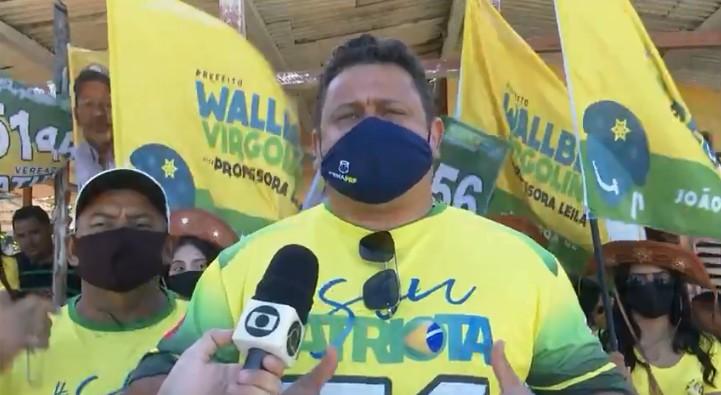Wallber Virgolino promete investir no setor de turismo em João Pessoa