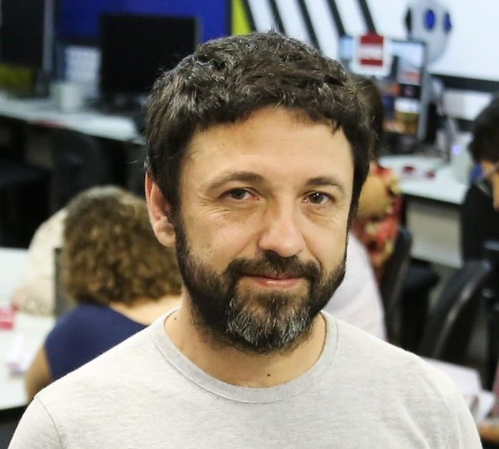 Max Eluard, coordenador da TV Unifor  — Foto: Ares Soares
