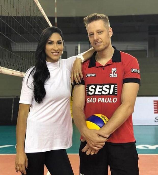 Jaqueline e Murilo (Foto: Reprodução/Instagram)