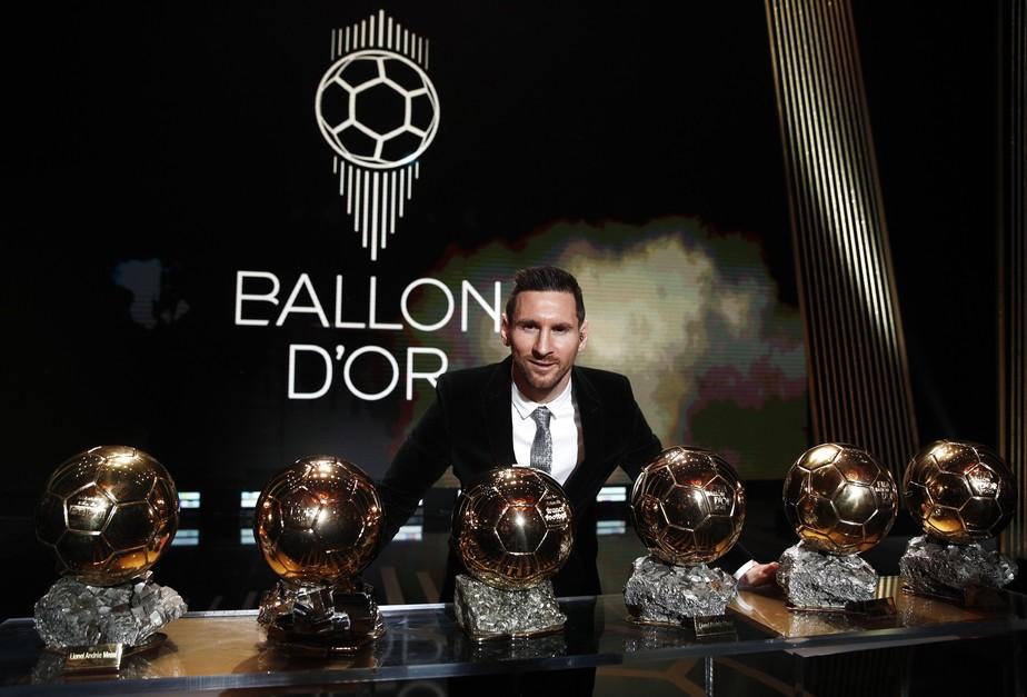 Messi conquista Bola de Ouro pela sexta vez e se isola como maior vencedor; Alisson fica em 7º