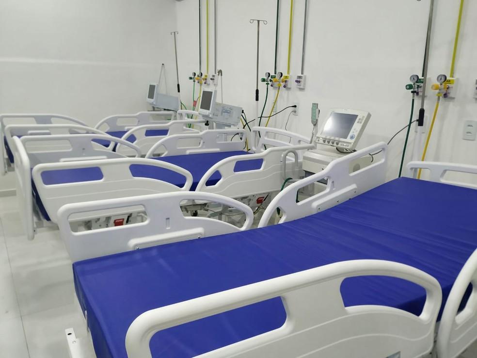 Hospital Regional de Patos, PB, reativa 12 leitos de enfermaria para tratamento da Covid-19 — Foto: Divulgação/Ascom