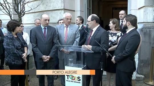 Sartori formaliza pedido para mudar prazo da realização de plebiscito sobre futuro de estatais