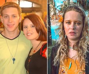 """Sergio Hondjakoff e Mariana Bridi """"Malhação"""" (2004) e ela em fase atual   Divulgação/TV Globo e Instagram"""