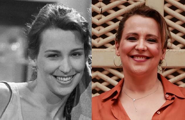 Ana Beatriz Nogueira era Selma, cujo sonho era se casar. A atriz fará a novela 'Um lugar ao Sol' (Foto: Globo e Brenno Carvalho/O Globo)