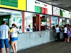 Para ter gratuidade, usuários deverão comprovar uso de serviços na rodoviária (Foto: Meneguini/Gcom-MT)