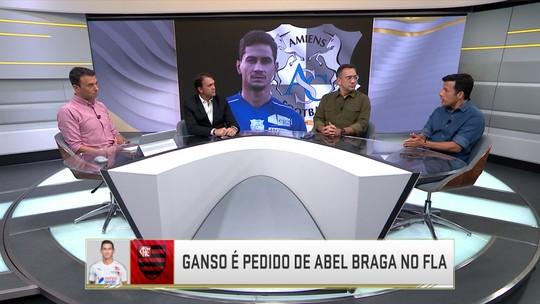 """Comentaristas analisam interesse do Flamengo por Ganso: """"Fazer investimento pesado nele hoje é uma loucura"""", diz Noriega"""