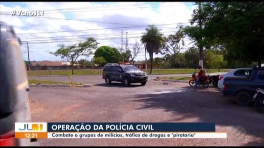 Três pessoas são presas durante operação da Polícia em Marabá, no Pará