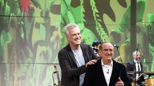 Renato Aragão se emociona no 'Conversa com Bial' e avalia nova trupe dos Trapalhões
