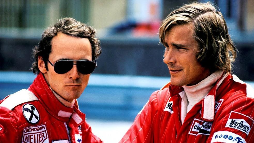 Em Kyalami Niki Lauda E James Hunt Tiveram Primeiro Embate Na épica Temporada De 1976 F1 Memória Ge