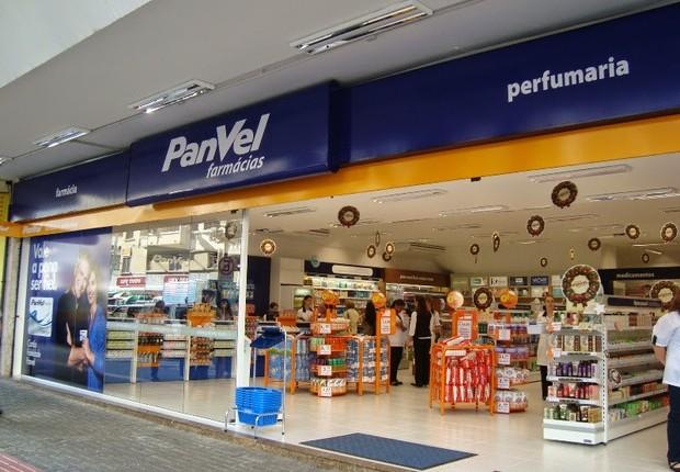 Unidade da rede de farmácia Panvel em Curitiba (Foto: Divulgação)