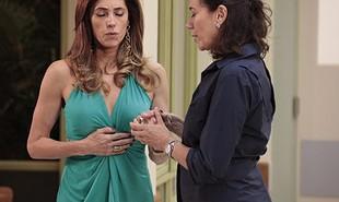 'Fina estampa', que reestreia nesta segunda-feira, 23, conta a história da rivalidade de duas mulheres completamente diferentes, Tereza Cristina (Christiane Torloni) e Griselda (Lilia Cabral) | TV Globo