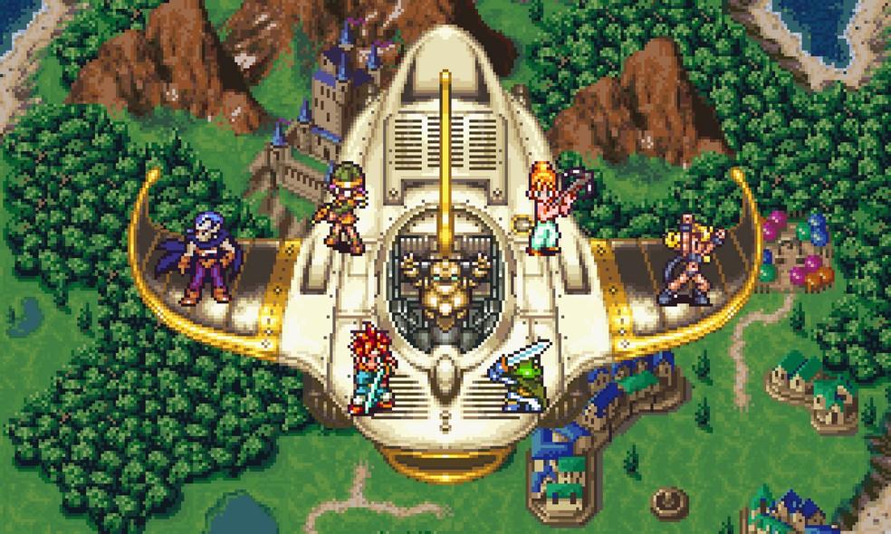 Cena de 'Chrono Trigger', RPG clássico que foi lançado para PCs (Foto: Divulgação)