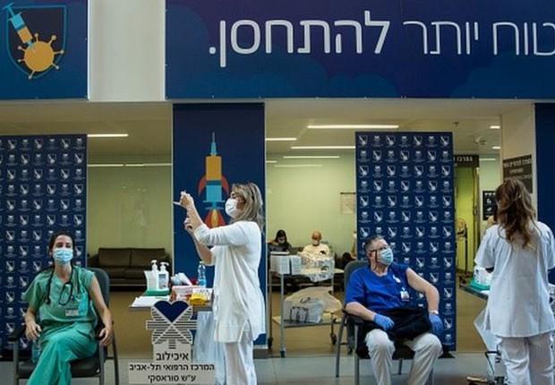 Avanço da imunização em Israel traz sensação de 'vida normal' - �?poca  Negócios   Mundo
