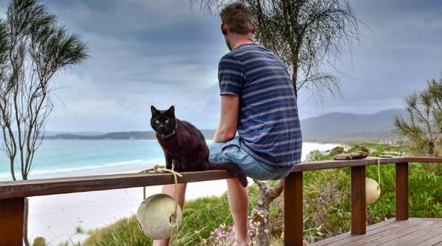 Para Rich East, ver o mundo pelos olhos de um gato é de uma sorte imensa (Foto: Divulgação)