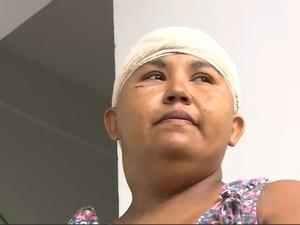 Mãe é agredida com marreta e tem bebê de dois meses raptada em RO (Foto: TV Rondônia/Reprodução)