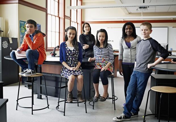 Crianças, geração alfa, pré-adolescente (Foto: GETTY IMAGES )
