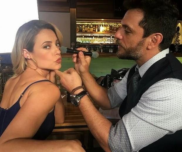 Paolla Oliveira e Rodrigo Lombardi (Foto: Reprodução/Instagram)
