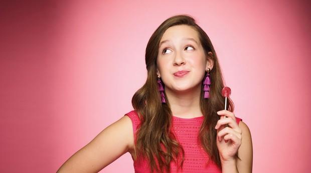 Alina abriu a empresa quando tinha somente 7 anos de idade (Foto: Divulgação)