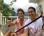 Fernanda Gentil e Priscila Montadon | Arquivo pessoal