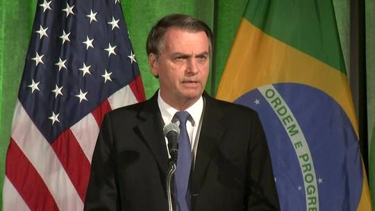 Em Washington, Bolsonaro se reúne com secretário-geral da OEA
