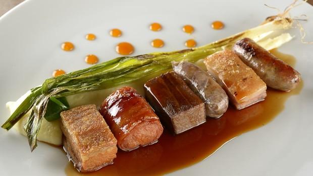 Porco em seis versões, prato da Casa do Porco (Foto: Divugação/Mauro Holanda)