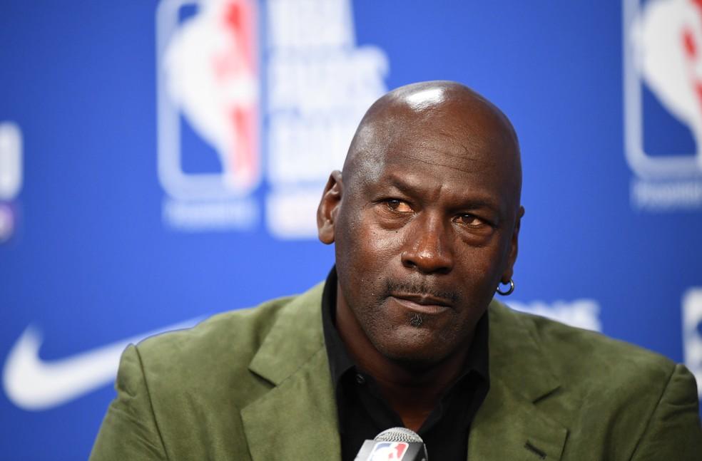 Michael Jordan — Foto: AFP