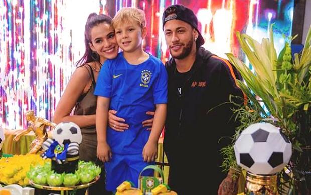 Bruna Marquezine, Davi Lucca e Neymar (Foto: Reprodução/Instagram)
