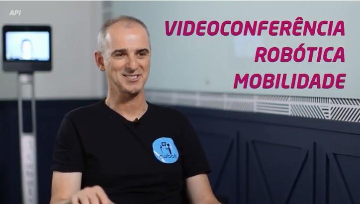 O CEO da Cbot explica mais sobre a startup (Foto: reprodução)