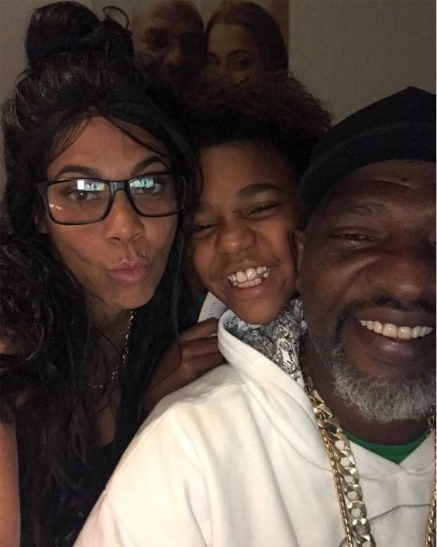 Silvia, Catra e o filho do casal (Foto: Reprodução / Instagram)