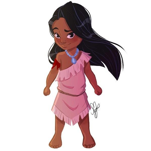 E o que dizer da versão masculina da Pocahontas? (Foto: Frank Figueredo)