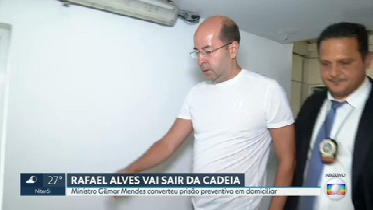 Gilmar Mendes determina que Rafael Alves cumpra prisão domiciliar