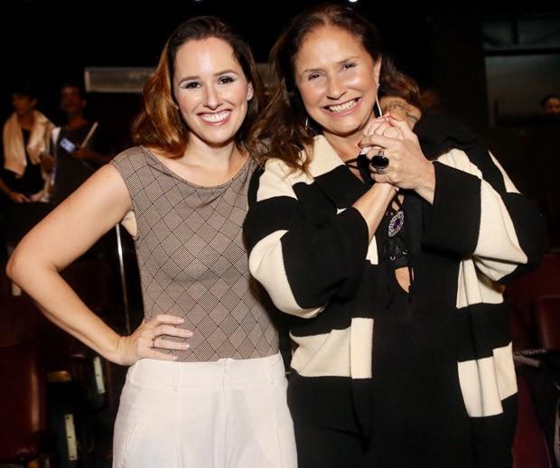 Mariana e Fafá de Belém  (Foto: Manuela Scarpa/Brazil News)