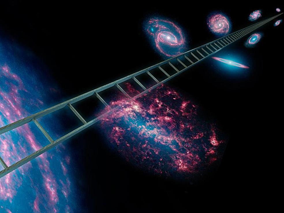 Antes do Big Bang as leis da física que temos hoje não se aplicavam, diz Hawking (Foto: Nasa/JPL-Caltech)