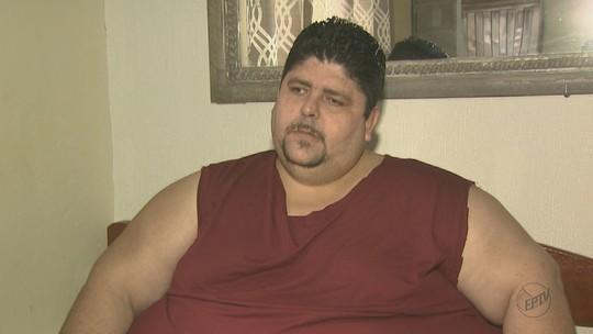 Homem com 286 quilos ganha balão intragástrico para emagrecer: 'Nasce uma esperança', diz