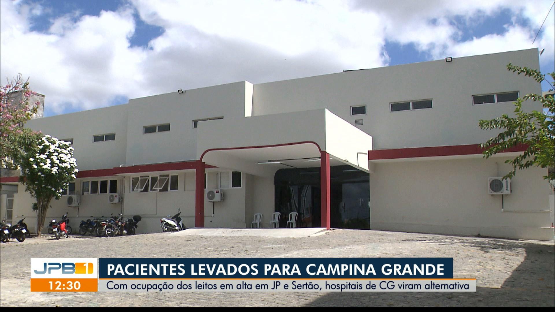 Hospital das Clínicas ganha 20 novos leitos para tratamento da Covid-19, em Campina Grande